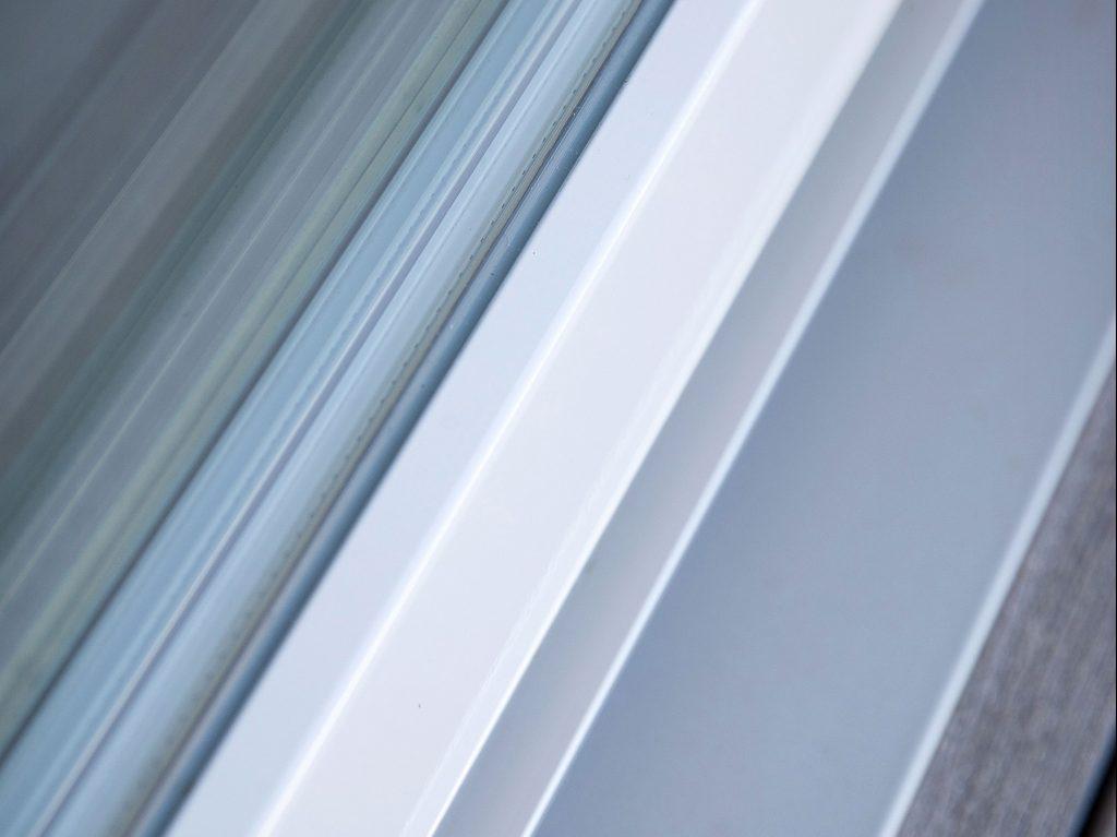 DOFAB Nord skjutdörrar trä/alu 3-glas